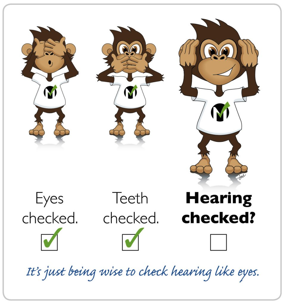 Figure 3 Eyes checked. Teeth checked. Hearing checked.